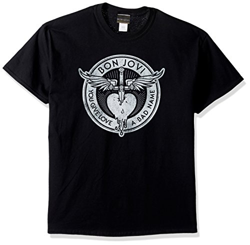Bon Jovi Men's Give Love a Bad Name T-Shirt
