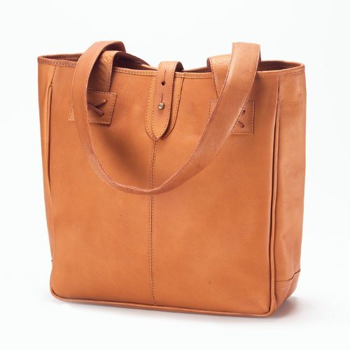 Clava Small Leather Tote Bag - Tote Oversized Clava