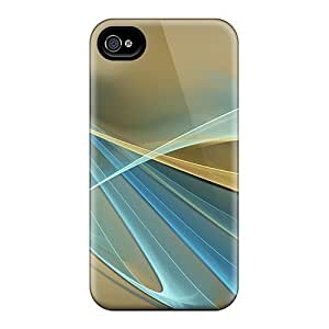 For Iphone 4/4s Fashion Design Golden Symphony Case
