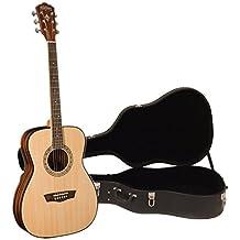 Washburn WF5K Apprentice 5 Acoustic Folk Guitar w/ Case