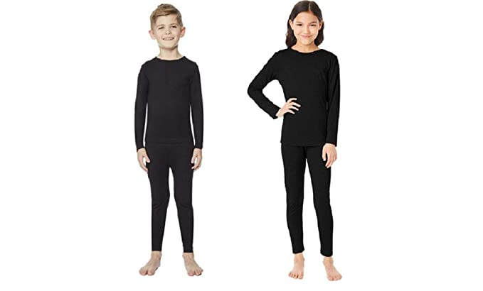 5b88e4a327f0 Amazon.com  32 DEGREES Kid s Heat Base Layer Set  Clothing