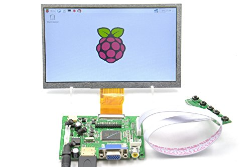 7-Inch-1024600 Capacitive Touch Panel LCD Display HDMI Monitor DIY Kit@Pzsmocn for Beagle Bone Black/Raspberry Pi/PC/MacBook