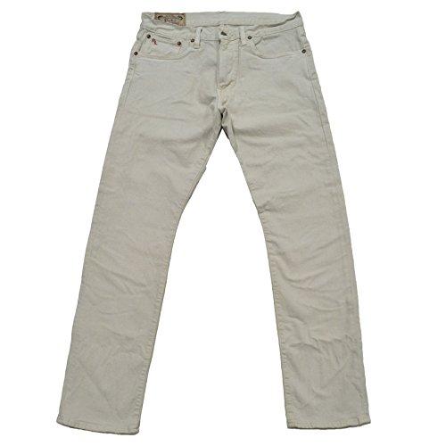 Polo Ralph Lauren Men's Varick Slim Straight Jeans Size 32Wx32L Light Grey