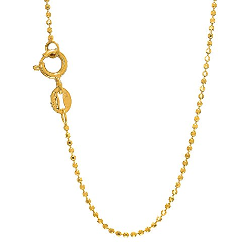 1mm Diamond Cut Bead Chain - 2