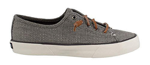 Sperry Women's, Pier View Slip on Shoes Dark Grey 6.5 (Sperry Lace Oxfords)