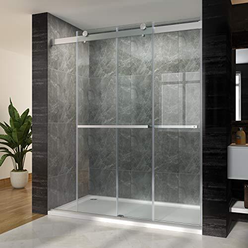 SUNNY SHOWER Frameless Shower Door 3/8