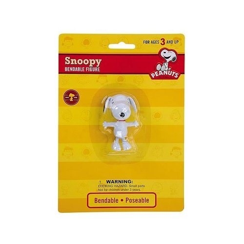 Snoopy Bendable Figure (Peanuts Snoopy - Bendable Action Figure)