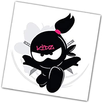 Amazon.com: Ninja Kidz® Ninja Kidz TV Tatuaje Temporal ...