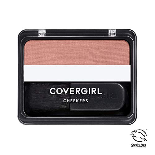 COVERGIRL Cheekers Blendable Powder Blush Iced Cappuccino, .12 oz (packaging may vary)