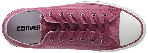 Converse Chuck Taylor All Star Wash Ox - Zapatillas de Deporte de canvas Unisex Rosa - rosa