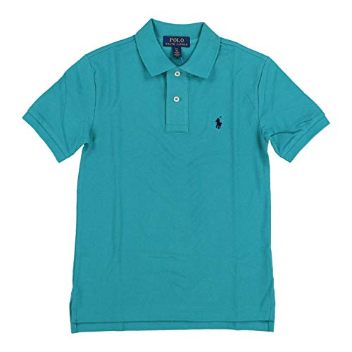 (Polo Ralph Lauren Boys Classic Fit Mesh Polo Shirt (Small (8), Western Turquoise))