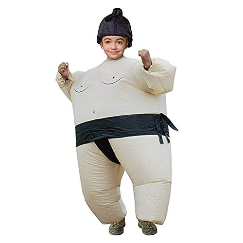 BANLAN Inflatable Adults Sumo Wrestler Wrestling Suits Costume | Inflatable Costumes for Adults | Halloween Costume