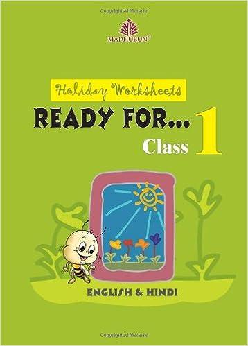 Holiday Worksheets for Class - 1 [ English & Hindi ]: Madhubun ...