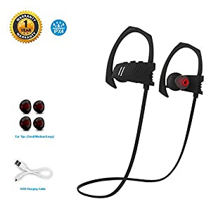 Wireless Bluetooth Headphones, BeYo LTD Runner Headset Bass Sport Earphones (Q9)