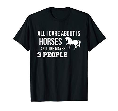 Funny Cute Horse Shirt Gift Men Women - Funny Horse Shirts