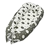 Cotton Baby Uterus Bionic Bed Portable Removable Baby Bed in Bed 19.631.4 inch (Color : 2)