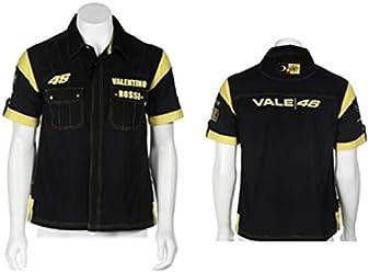 Valentino Rossi Black #46 Slim Fit Shirt