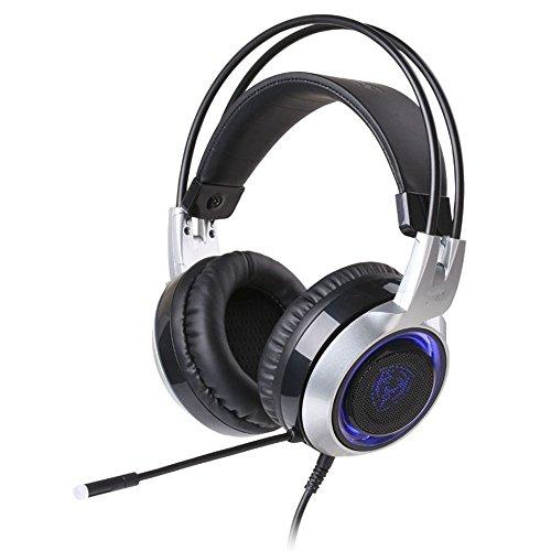XHKCYOEJ Headset Stereo Headset/Headphones/Headphones/Games/Chicken/Ear/Light/Light,Black: Amazon.co.uk: Electronics