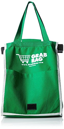 Grab'N Go Reusable Shopping Bags (2) with Cart Clips