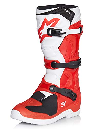 Alpinestars Tech 3 Boots-Red/White-10