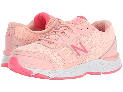 [new balance(ニューバランス)] メンズランニングシューズ?スニーカー?靴 KR680v5Y (Little Kid/Big Kid) Himalayan Pink/Pink Zing 7 Big Kid (25cm) W