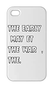 the early may et the war , the. Iphone 5-5s plastic case