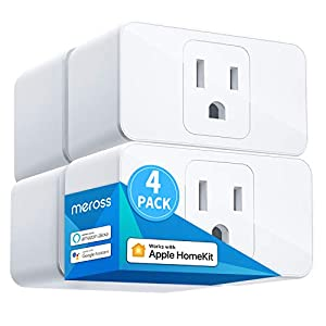 Best Epic Trends 412DNE%2BydTL._SS300_ Meross Smart Plug Mini, 15A & Reliable Wi-Fi, Support Apple HomeKit, Siri, Alexa, Echo, Google Assistant, Nest Hub and…