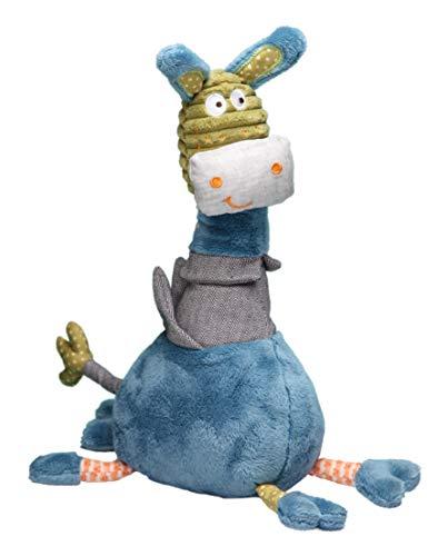 Brinquedo de Pelúcia Burrinho, Storki, Azul