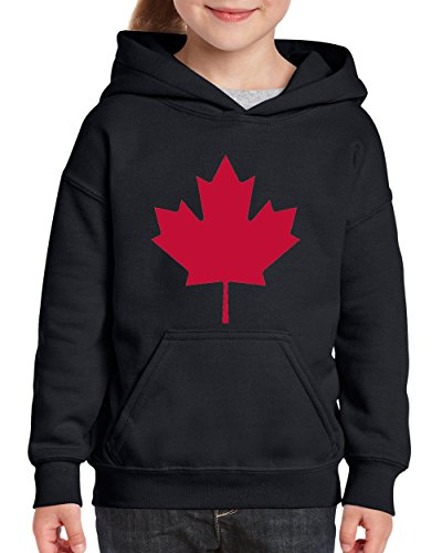 Maple Leaf Promotions (Canada Hoodie Travelers Gift Ideas Places To Travel In Vancouver Toronto Canadian Maple Leaf Novelty Gifts Youth Hoodies Sweater)