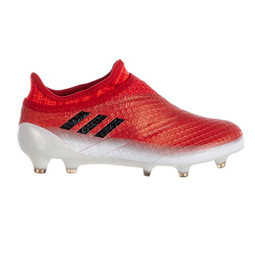 Adidas Junior Messi 16+ PureAgility FG Soccer Cleats - Red/Core Black/White - Kids - 5 - Outdoor Soccer Cleats Youth