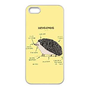 iPhone 4 4s Cell Phone Case White Anatomy of a Hedgehog Mmpfx