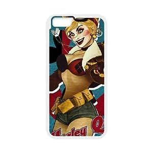 iPhone 6 Plus 5.5 Inch Cell Phone Case White Harley Quinn N6W1AR