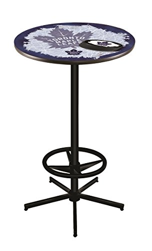 (Holland Bar Stool Co. NHL Toronto Maple Leafs Officially Licensed Pub Table, 36