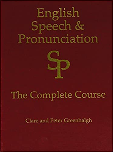 English Speech and Pronunciation Course (in 2 books and all on 14 DVDs)