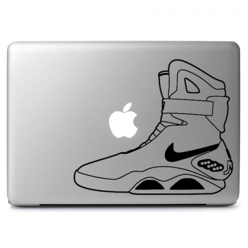 Back To The Future Mag Shoes Decal Sticker Skin, Die cut vinyl decal for windows, cars, trucks, tool boxes, laptops, MacBook - virtually any hard, smooth (Back To The Future Mag Shoes)