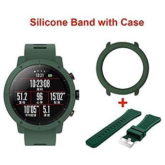 amazon raccolto nuovi prodotti caldi SZPZC Stratos Pace 2 Smart Watch Uomo Con Gps Orologi Ppg Monitor ...