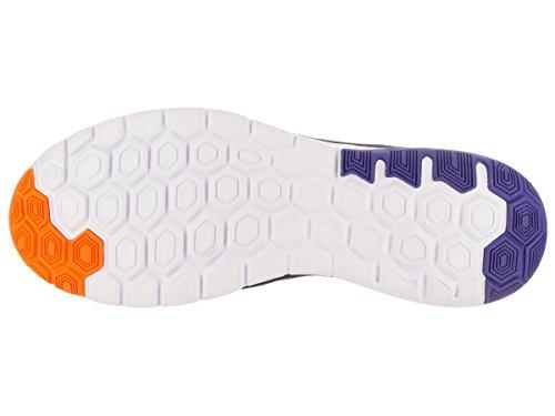 Nike Mens Flex Experience Rn 6 Chaussures De Course Noir / Chrome Persan Violet