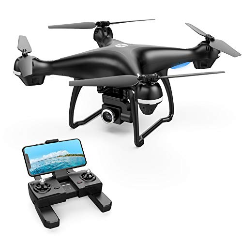 Holy Stone GPS FPV RC Drone HS100 with 2K HD Camera Live Video and GPS Return Home Quadcopter with Adjustable Wide-Angle WiFi Camera Follow Me