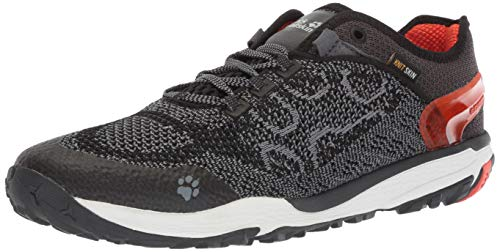 Jack Wolfskin CROSSTRAIL Knit Low M Men's Trail Running Shoe, Wild Brier, US 10, 5 D US