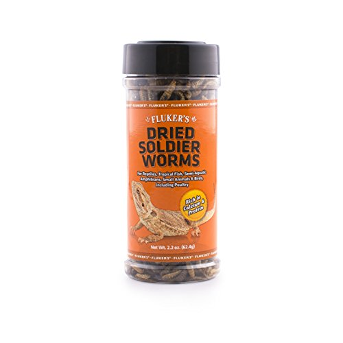 Image of Fluker'S 72028 Dried Soldierworms 2.2Oz