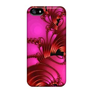 KzX50979qekm Cases Covers Protector For Iphone 5/5s Red Ribbon Cases
