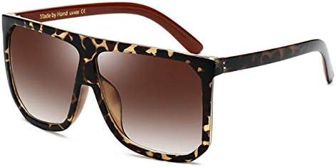 RJGOPL des lunettes de soleil Q óculos de sol do vintage óculos de sol uv400 praça marca designer grande quadro feminino gradiente C6