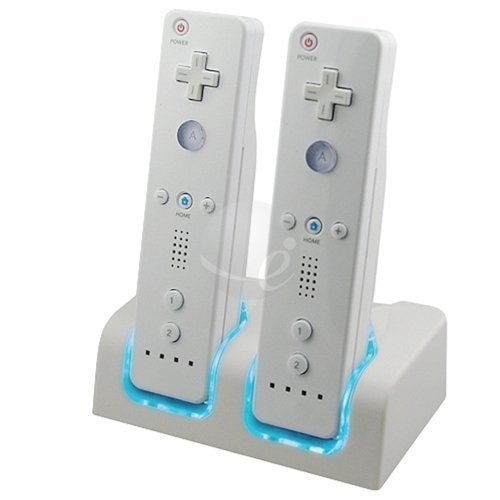 Zettaguard Dual Charging Station - White - Nintendo Wii ()