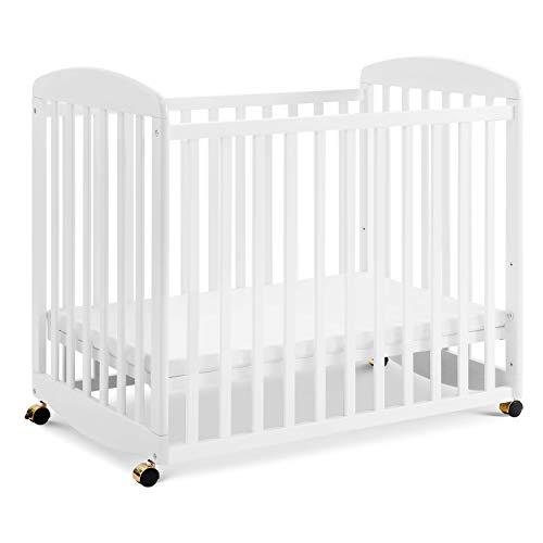 Davinci Alpha Mini Rocking Crib in White | Removable...