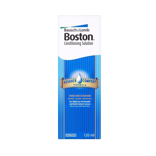 Permeable Contact (Boston Bausch & Lomb Advance Comfort Formula Conditioning Solution For Contact Lenses 120ml)