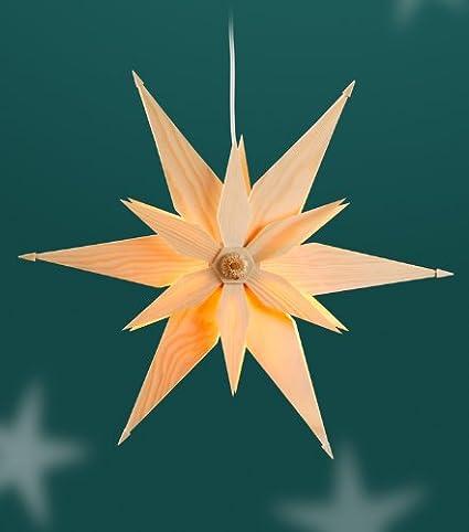 Spanstern Erzgebirge Adventssterne Weihnachtsstern Fenster Seiffen Beleuchtung