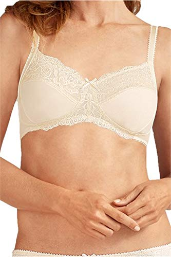Amoena Womens Lilly Cut and Sewn Wire-Free Bra