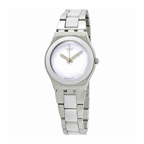 Ceramic Blanc (Swatch Tresor Blanc Ceramic Ladies Watch YLS141GC)