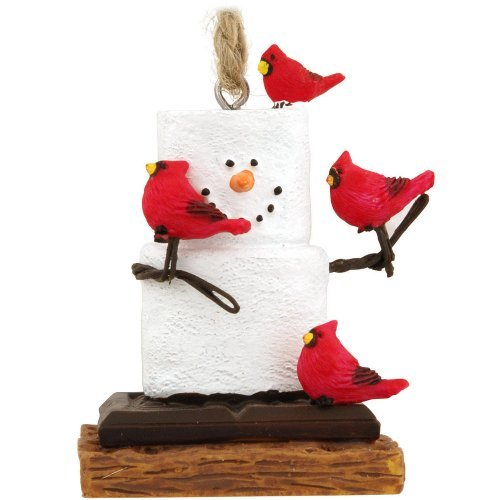 Midwest CBK S'Mores With Cardinals Ornament ()