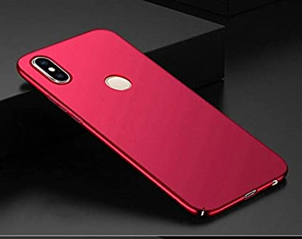 official photos 867ed 2f52c RIdhaniyaa 360 Degree Sleek Rubberized Matte Hard Back Cover for Xiaomi Mi  Redmi Y2 (Royal Wine Red)